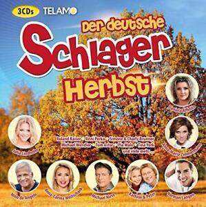 DER-DEUTSCHE-SCHLAGER-HERBST-NINO-DE-ANGELO-MICHAEL-HIRTE-3-CD-NEUF