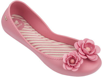 Zaxy NEW Start Blossom pink flower flat comfort jelly ballet shoes sizes 3-8
