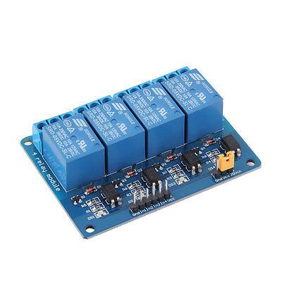 New 4 Channel 5V Relay Module Board Shield For PIC AVR DSP ARM MCU Arduino JR