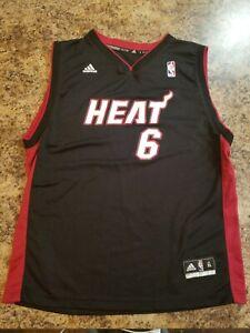 Adidas Lebron James/Miami Heat Jersey Youth XL EUC   eBay
