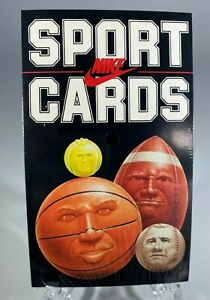 NIKE CARD SET 1985 - Factory Sealed - MICHAEL JORDAN - Chicago Bulls JUMPMAN