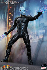 1//6 scale Hot Toys The Amazing Spider-Man 2 Electro tailored bluish and black El