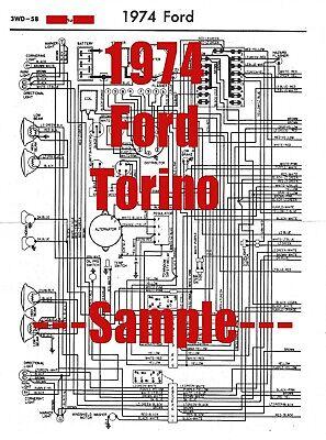 1974 Ford Torino Full Car Wiring Diagram *High Quality ...