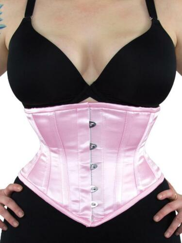 "GUC! 201 Authentic Pink Satin 22"" inch Underbust W"