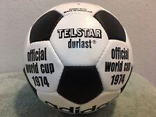 ADIDAS DURLAST TELSTAROFFICIAL LEATHER  MATCH BALLGERMANY WORLD CUP 1974