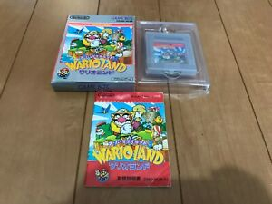 GameBoy Color WARIO LAND GB with BOX and Manual