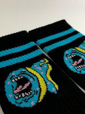 2 PAIRS BLUE//PINK Odd Future X Santa Cruz Socks