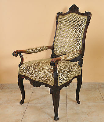 Gehorsam Baroque Armchair From The 18th Century