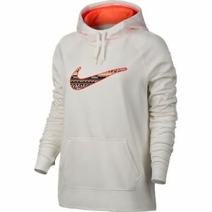 Nwt Damen Nike All Time Therma Passform 8 Bit Kapuzenpullover Club 819160-151 Comfortable Feel Damenmode