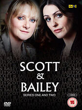SCOTT AND BAILEY - SERIES 1 AND 2 - DVD - REGION 2 UK