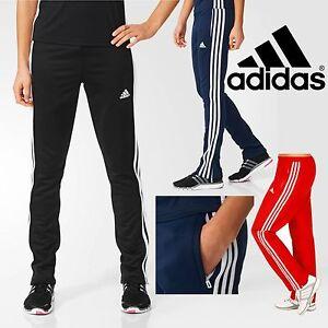 adidas-Ladies-T16-CLIMALITE-Sweat-Pants-Womens-Sports-Running-Tracksuit-Bottoms