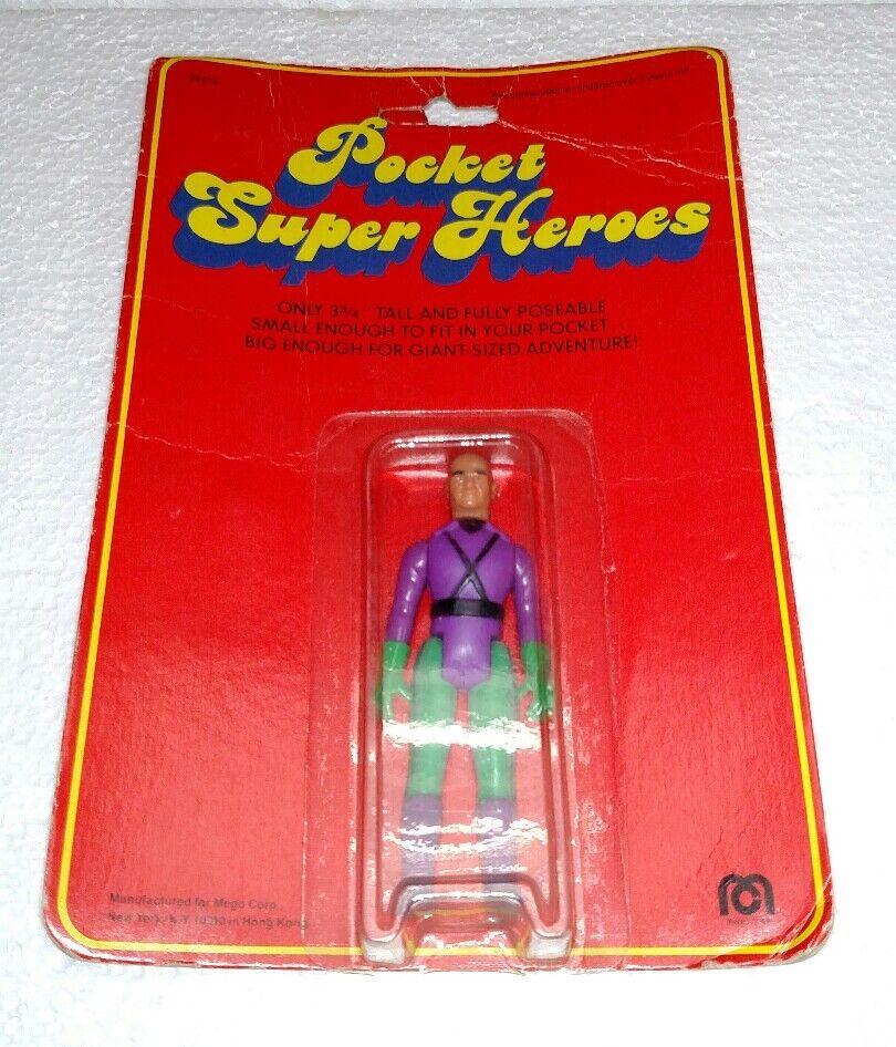 VINTAGE MEGO LEX LUTHER POCKET SUPER HEROES BRAND NEW