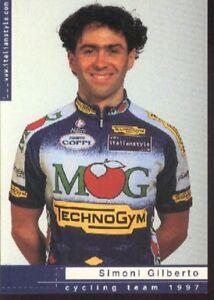 SIMONI-GILBERTO-Cyclisme-ciclismo-Cycling-Team-MG-97-Technogym-ciclista