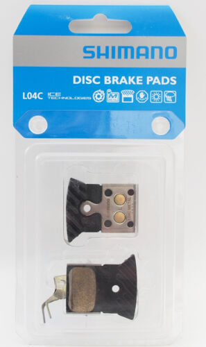 SHIMANO L04C IceTech FIN Metal Disc Brake Pads fits BRRS805 BRRS505
