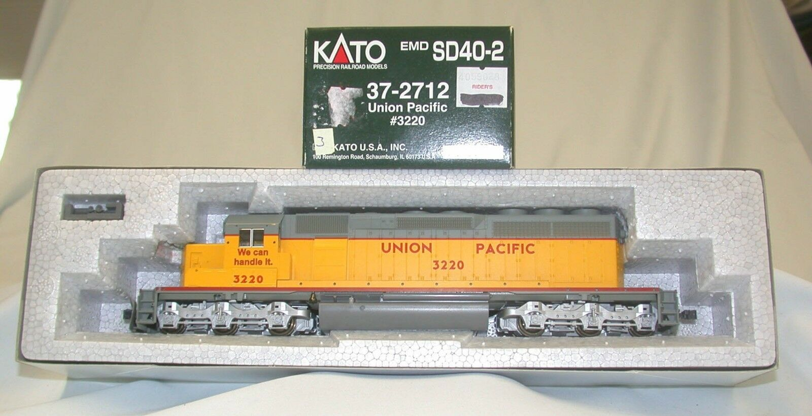Katou 37 - 2712 - - - EMD sd40 - 2 - c United Pacific 0e4