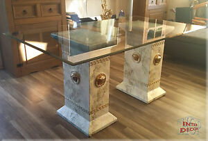 designer esstisch medusa b rom bel tisch glastisch m ander. Black Bedroom Furniture Sets. Home Design Ideas