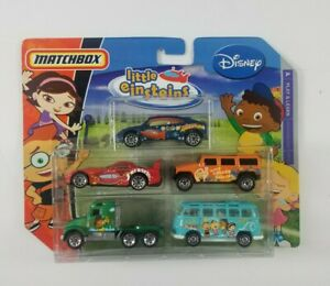 New-Matchbox-Disney-Little-Einsteins-Set-Of-5-Cars-Leo-Rocket-June-Annie-Quincy