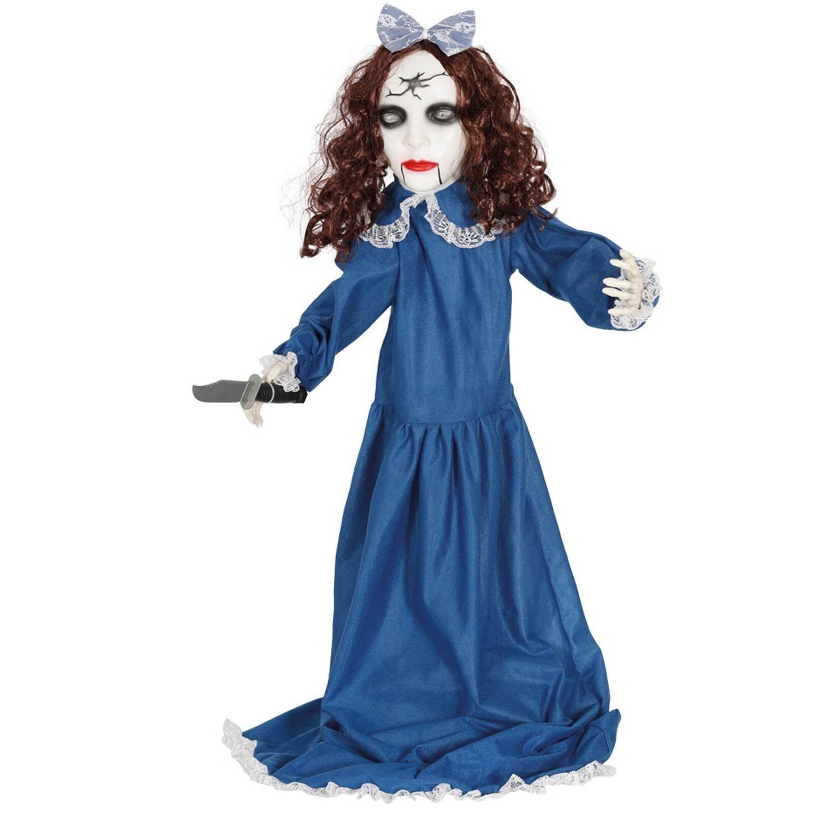 Bambola assassina con luce suono movimento decorazioni HALLOWEEN 90 cm cm cm 26063 c2c56a