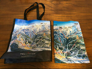 Details about Telluride Ski Area Trail Map Reusable Shopping / Grocery Bag  Resort Colorado