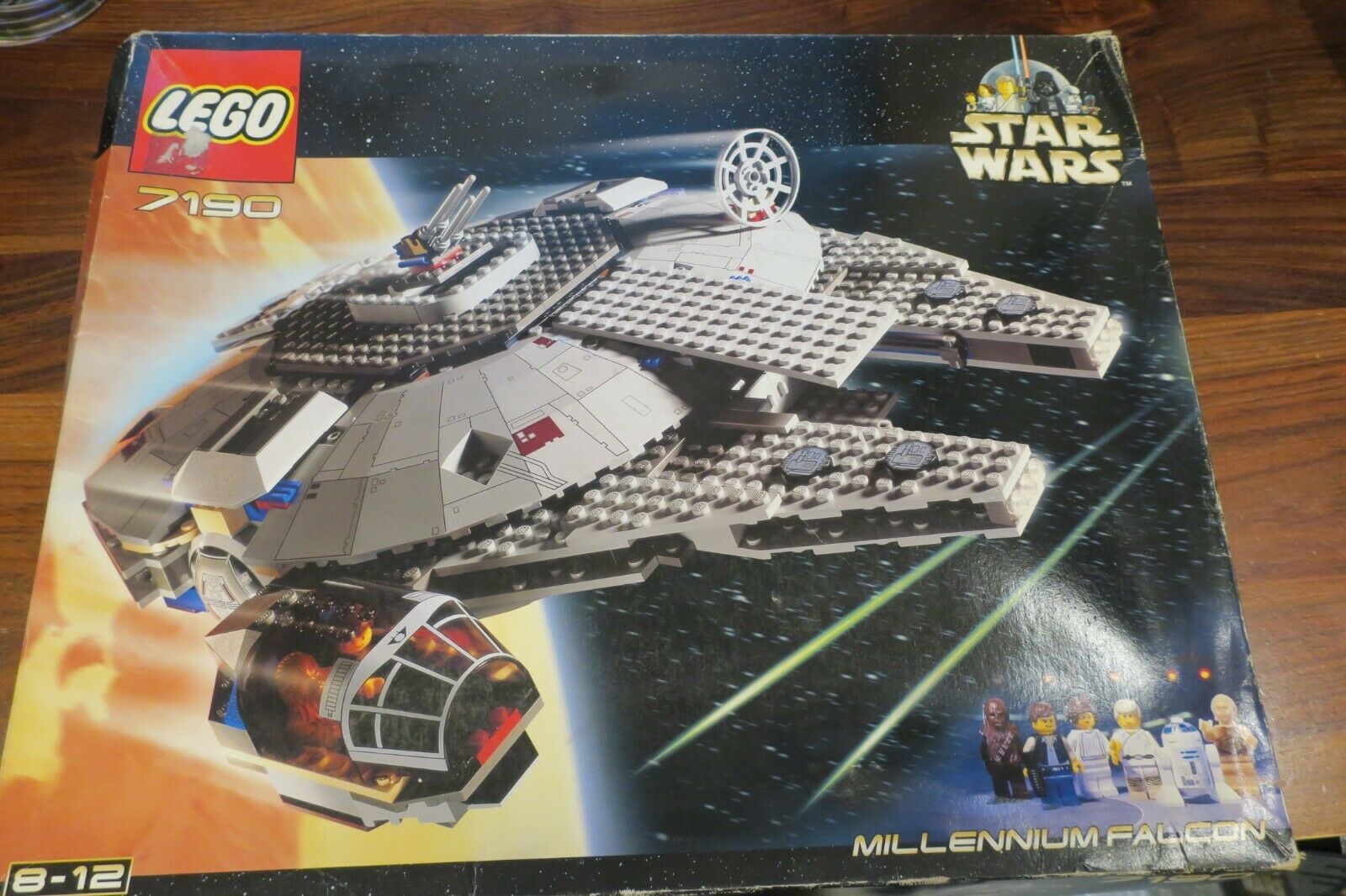 LEGO STAR WARS 7190 - FAUCON MILLENIUM