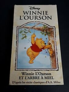Disney-Winnie-The-Pooh-1966-VHS-French-Version-Animated-Features-A-A-MILNE