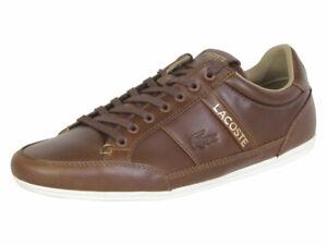 Lacoste-Men-039-s-Chaymon-119-Light-Tan-Off-White-Sneakers-Shoes