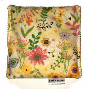 Flower Garden Pack Hot Cold You Pick A Scent Microwave Heating Pad Reusable