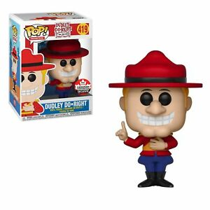 Funko-Pop-Dudley-Do-Right-2018-Canadian-Convention-Exclusive-Figure-Rare