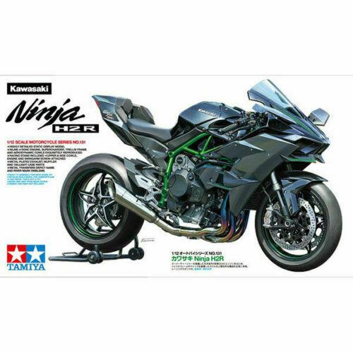 Kawasaki H2R For Sale >> Tamiya 14131 Kawasaki Ninja H2r 1 12 Scale For Sale Online Ebay