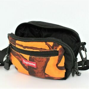 Detalles de Supreme Camuflaje Árbol Bolsa de Hombro Naranja FW12