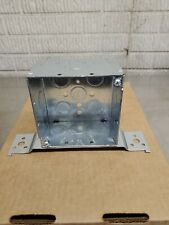 Hubbell Raco 237 Steel Electrical Box 2 18 Deep 4x4 Square New Lot Of 10