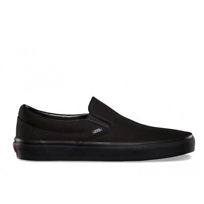 Vans slip on without laces all black VEYEBKA Original Shoes ® Italy 2018 before | eBay