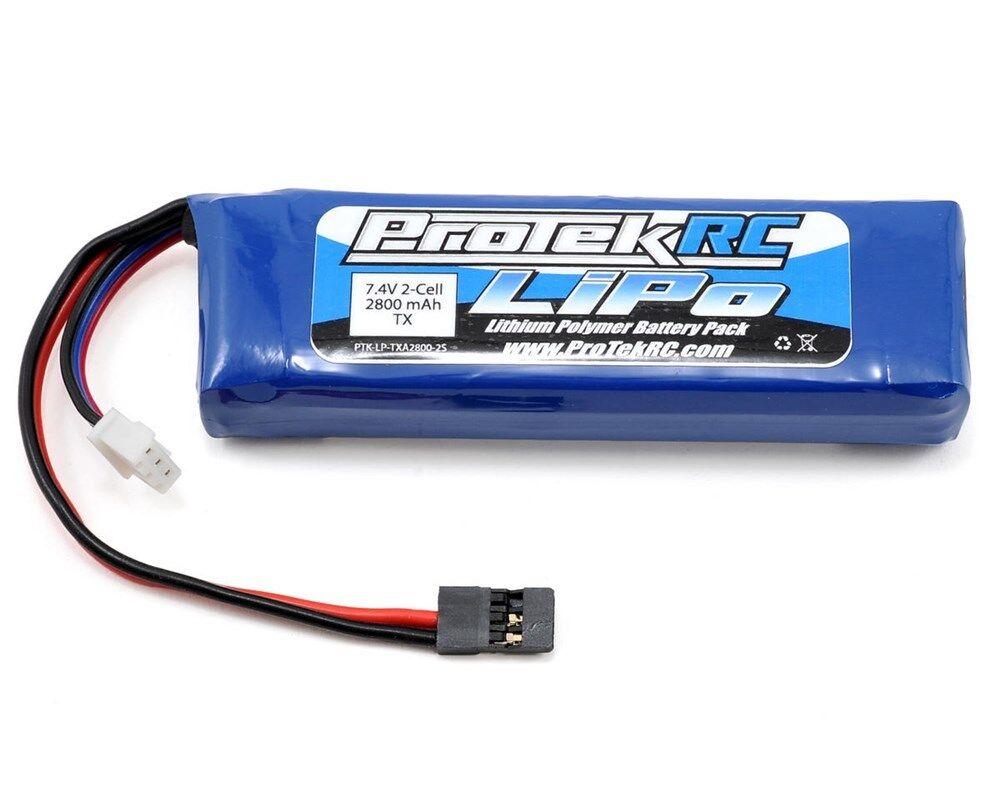 Protek rc lipo sender batterie (7.4v   2800mah) (mt-4, mt-4s, m11x, m12, m12s)