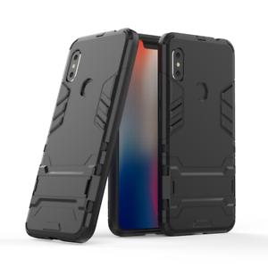 Aimable Xiaomi Redmi Note 6 Pro-slim Tough Shock Proof Builder Téléphone Support De Capot De Coque-afficher Le Titre D'origine Prix De Vente Directe D'Usine