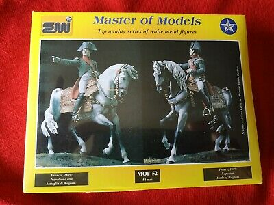 Compiacente Emi Miniatures - Napoleon, Battle Of Wagram - 54 Mm. Assicurare Anni Di Servizio Senza Problemi