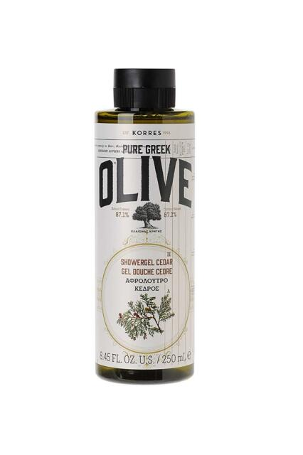 KORRES Olive Cedar Showergel 250 ml