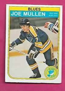 1982-83-OPC-307-BLUES-JOE-MULLEN-ROOKIE-GOOD-CARD-INV-C2441