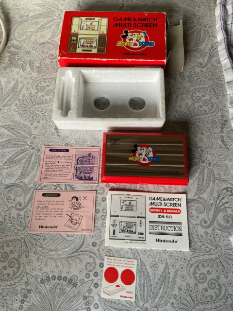 Nintendo Game & Watch, Mickey & Donald, Flot stand