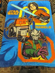 Star Wars Rebels   Plush Throw Blanket