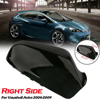 Matte Black For Vauxhall Astra H MK5 Wing Mirror Cover Cap Casing 04-09 Right