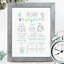 Personalised-Birth-Print-for-Baby-Boy-Girl-New-Baby-Gift-or-Christening-Present thumbnail 110