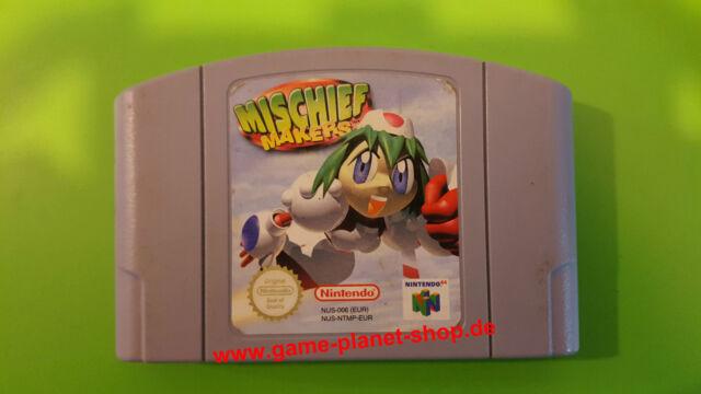 Mischief Makers Également appelé troubelmake nintendo n64 collection Jump Run
