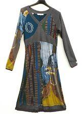 NEU Jaguale Siefel Kleid Dress Robe Vestido S 36 38 Lagenlook
