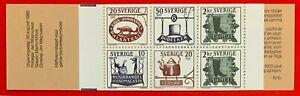 Sweden-1985-Sc-1550a-TRADE-SIGNS-MNH-Stamp-Booklet-CV-3-25