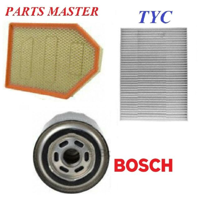 Tune Up Kit Air Cabin Oil Filters Fit DODGE CHALLENGER V8