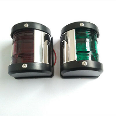 Marine boat Starboard Port Light 12V 24V LED Navigation light 20M Boat 1 Pair