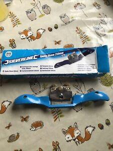Genuine Silverline Spoke Shave 250mm Flat598427