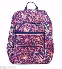 VERA BRADLEY Campus Backpack KATALINA PINK Large Bag Travel School $109