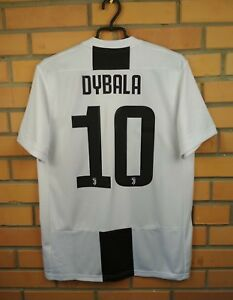 finest selection 2946a da8b3 Details about Dybala Juventus jersey medium 2018 2019 home shirt CF3489  soccer football Adidas