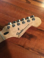 Fender Stratocaster Standard Strat Relic Maple Neck Tuners Plate